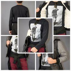 Ανδρική μπλούζα με τύπωμα only music για casual look,cause it's a man's world! #metaldeluxe   #fashion   #clothes   #man   #style   #menclothes