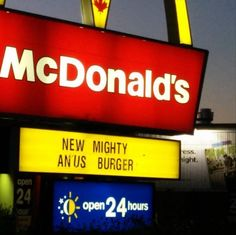 Not All Fast Food Signs Are Equal – 16 Pics