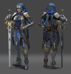 【Character】Knight, Nora Zhang on ArtStation at https://www.artstation.com/artwork/mRaa9