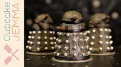 DOCTOR WHO Dalek Cupcakes | Cupcake Jemma