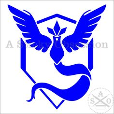 An update to my Team Mystic decal. Pokemon Go Inspired Team Mystic Team Blue Custom Decal Sticker by AStickyObsession on Etsy