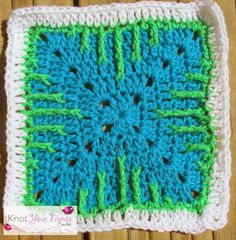 Knot Your Nana's Crochet: Granny Square CAL (Week 31)