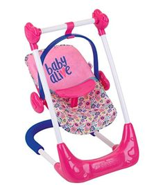 Baby Alive 3 in 1 Doll Play Set Swing Highchair and Car Seat Baby Alive 3 in 1 Puppenspielset Schaukelhochstuhl und Autositz Baby Dolls For Kids, Little Girl Toys, Toys For Girls, Baby Alive Doll Clothes, Baby Alive Dolls, Muñeca Baby Alive, My Life Doll Accessories, Barbie Camper, Chelsea Doll