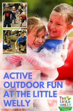 Active outdoor fun at The Little Welly | Suburban Mum