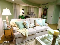 country+chic+decorating | we know shabby chic usually involves light green paint but why did ...