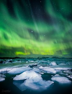 Iceland the lights if I ever get to see these then wow