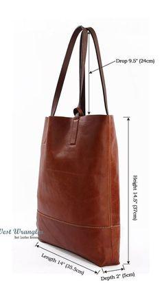 (189) Handmade leather bag for laptop, books, office, business bag, multi-function bag, shoulder bag   Bags