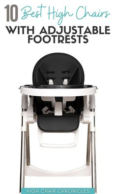 Here are the 10 best high chairs with adjustable footrests in 2021. This list includes modern high chairs and and adorable wooden high chairs for babies and toddlers. Add one to your cart or your baby registry checklist, today! Your baby gear won't be complete without it! Modern High Chair, Best High Chairs, Wooden High Chairs, Baby Registry Checklist, Postpartum Recovery, Foot Rest, Baby Gear, New Moms, Breastfeeding