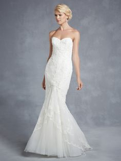 e04b761a 2015 Blue by Enzoani - Hidalgo - Available at Uptown Bridal & Boutique  - www