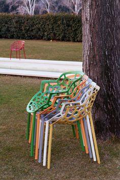 Polo chairs, #Archirivolto Design (Claudio Dondoli e Marco Pocci).
