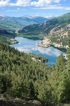 lake san cristobal | Lake San Cristobal, Lake City, Colorado