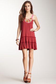 Ruffle Tiered Crochet Dress on HauteLook