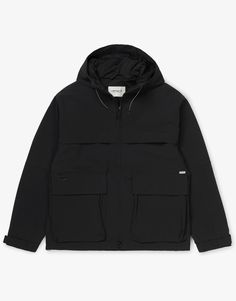 Carhartt WIP Jaden Jacket - Now available at streetwear webshop OnTheBlock. Fast worldwide shipping on all Carhartt WIP clothing. Carhartt Wip, Street Wear, Raincoat, Winter Jackets, Clothes, Black, Fashion, Rain Jacket, Winter Coats
