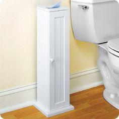 Cottage Bath Tissue Cabinet Neat Discreet Storage For Bathroom Basics Our Toilet Holds Up To 4 Rolls Of Paper A Kleenex Box Not