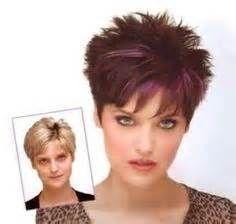 Short hair for women over 60 with glasses short grey - Femmes 50 ans et plus ...