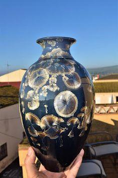 Nuevo esmalte Glaze Recipe, Ceramic Sculptures, Vase, Urban, Recipes, Decor, Enamels, Oven