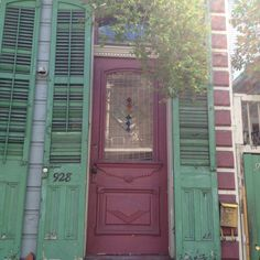 Beautiful doors in New Orleans