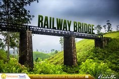 Railway Bridge, Badulla, Sri Lanka:  |    #RailwayBridge #Railway #Bridge #Badulla #Tourist #Beautiful #Landscape #SriLanka #Flights #Travel #TaprobaneTravel #FlightstoBadulla #FlightstoSriLanka  |    #CheapFlights with Taprobane Travel: https://www.taprobanetravel.co.uk/