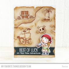 Image result for my favourite things bb party like a pirate stamp set