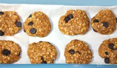 no bake pumpkin chocolate chip protein cookies - BusyButHealthy.com