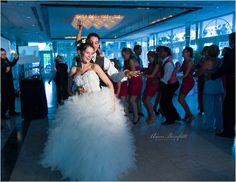 Grand Plaza Resort.  Wedding Congo line!  Imperial Ballroom.  St Pete beach, Florida.