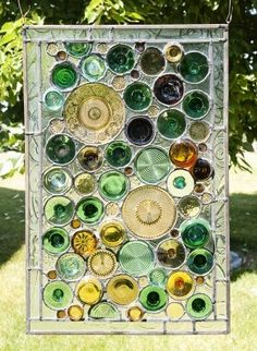 The Art Of Up-Cycling: Bottle Ideas-Upcyclng Ideas For Wine Bottles- Jars - Beer Bottles-