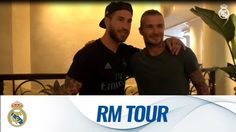 Real Madrid  David Beckham Julia Roberts and MORE famous faces on the Real Madrid Tour!