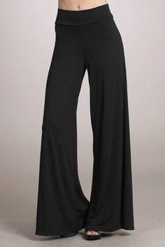 Black Maxi Palazzo pants, Holiday pants, Palazzo pants with wide leg, XS ONLY, SALE https://www.etsy.com/shop/PricklyPoppyFashion?ref=si_shop