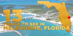 Melbourne has some of the most beautiful landscaping and ocean views in the country. Here are 13 great things to do in the Brevard County town. Palm Bay Florida, Cocoa Beach Florida, Naples Florida, Florida Vacation, Florida Travel, Florida Beaches, Florida Living, Melbourne Florida, Melbourne Area