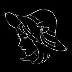 Wings Rhinestone Heat Transfers Customized For T-Shirts Paper Embroidery, Hand Embroidery Designs, Beaded Embroidery, Embroidery Patterns, Bead Crafts, Jewelry Crafts, Jewelry Art, Dot Art Painting, Fabric Painting