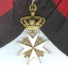 Grand Cross with Riband of a Knight Grand Cross of Magistral Grace.#OrderofMalta #SMOM