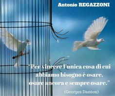 """OSARE...!?! Se ci va male... abbiamo fatto un passo in più verso la libertà. Ne vale la pena?.. =>Se ti piace questo post clicca """"Mi Piace"""" qui https://www.facebook.com/A.Regazzoni/"""