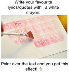 so white crayons do have a purpose after all
