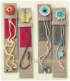 crochet bookmarks handmade