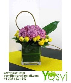 This we can do for the same day. Look our flower arrangements on our website www.yosvi.com