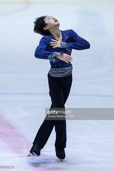 ニュース写真 : Koshiro Shimada of Japan competes during the...