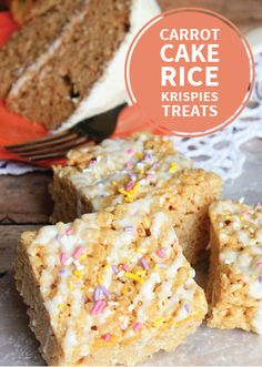 Looking for a fun new way to revamp your favorite cereal treats? The fresh new flavor of Carrot Cake Rice Krispies Treats® pairs perfectly with the soft and chewy texture of the classic, kid-friendly snack—the perfect treat for Easter!