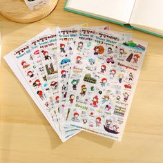 >> Click to Buy << 6 Sheets/pack, Different Diy Cute Waterproof High Quality Koran Style Pvc Lovely Planner Toy Stickers  #Affiliate