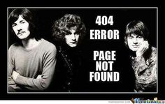 """Page Not Found""?!  Time to put a search party together! Who's with me?!"