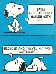 Snoopy Quotes About Friendship | Snoopy Smile Images Snoopy Smile Pictures & Graphics - Page