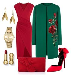 """"""""""" by queen-naznaz ❤ liked on Polyvore featuring Dolce&Gabbana, Donna Karan, Yves Saint Laurent, L.K.Bennett, Catherine Zoraida and MICHAEL Michael Kors"""