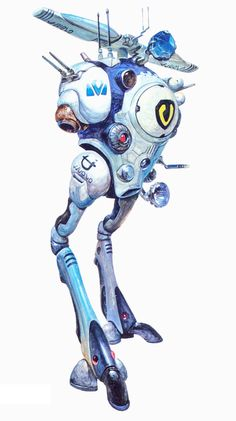 Macross, Pod Regult, by takani yoshiyuki Macross Valkyrie, Robotech Macross, Gundam, Macross Anime, Manga Anime, Anime Art, Fighting Robots, Cool Robots, Super Robot