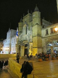 Coimbra by night #Portugal