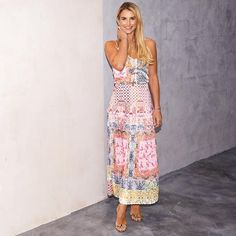 Boho Beatrice Maxi Skirt – Never Fully Dressed Leopard Skirt, Strappy Sandals, Dress To Impress, Vogue, Boho, Skirts, Model, How To Wear, Wedding