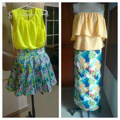 Conjuntos de falda
