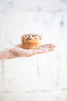 Strawberry Coconut Muffins With Chia Seeds