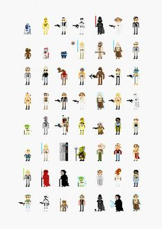 8 Bit Star Wars