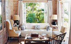 bukaan dalam desain interior gaya tropis