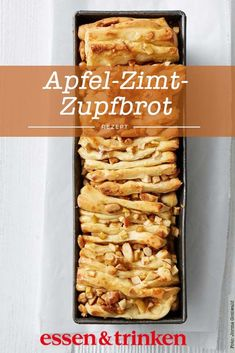 Apple cinnamon plucked bread recipe-Apfel-Zimt-Zupfbrot Rezept Have you ever eaten bread? Here you can find the recipe for apple-cinnamon-plucked bread. Apple Recipes, Bread Recipes, Sweet Recipes, Cake Recipes, Cooking Recipes, Egg Recipes, Pizza Recipes, Food Cakes, Peanutbutter Cake Recipe