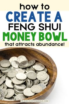 Tips for creating a feng shui money bowl that attracts wealth and abundance! How to create a wealth bowl for your home or business to attract money and prosperity! #fengshui #fengshuitips #money Feng Shui Tips For Wealth, Feng Shui And Money, Feng Shui Guide, Feng Shui Basics, Feng Shui Rules, How To Feng Shui Your Home, Feng Shui To Attract Money, Konmari, Feng Shui Your Wallet